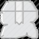 box, broken, business, finance, marketing icon