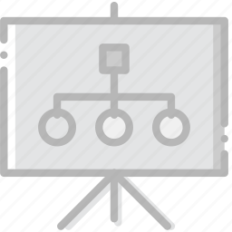 business, finance, graph, marketing, presentation icon