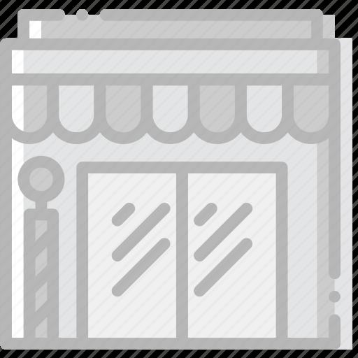 barbershop, business, finance, marketing icon