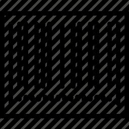 barcode, business, finance, marketing icon