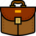 briefcase, business, finance, marketing icon