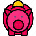 marketing, bank, piggy, business, finance