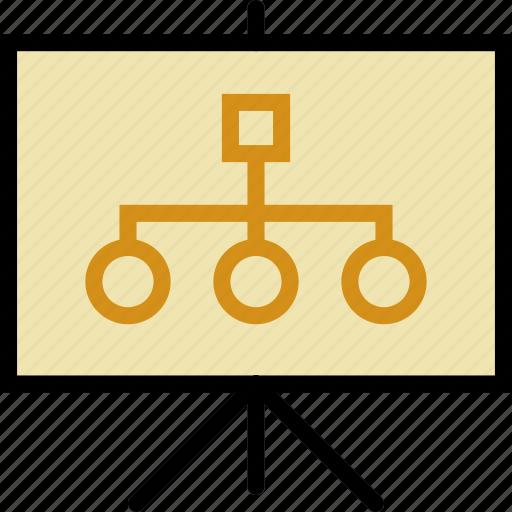 business, finance, graph, marketing, presentation icon