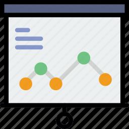 business, chart, finance, marketing, presentation icon