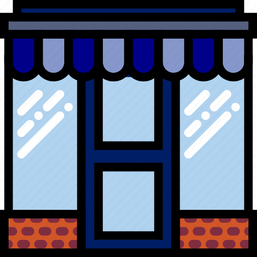 business, finance, marketing, store icon