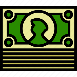 business, finance, marketing, money, stack icon