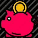 bank, business, finance, marketing, piggy