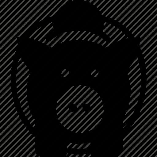 bank, business, finance, marketing, piggy icon