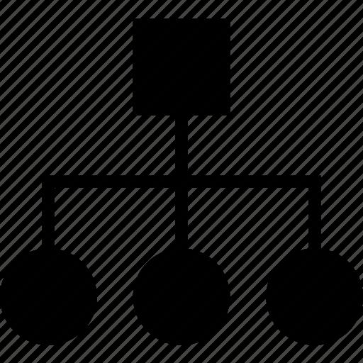 business, diagram, finance, marketing, orientation icon