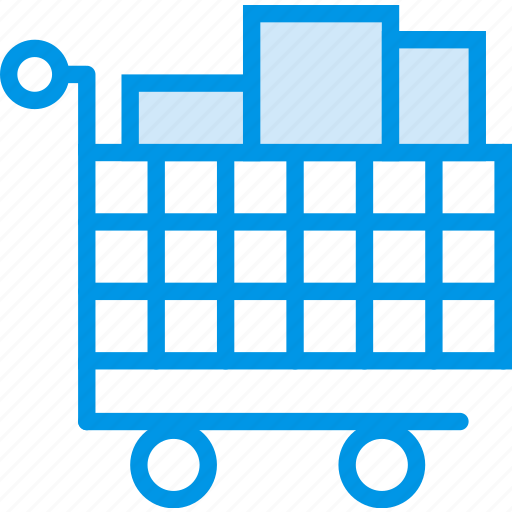 business, cart, finance, full, marketing, shopping icon
