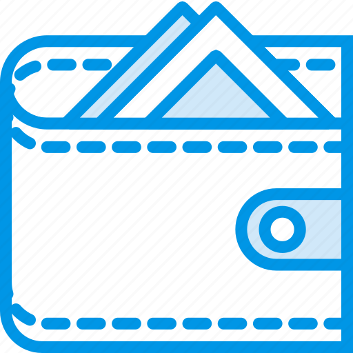 business, finance, full, marketing, wallet icon