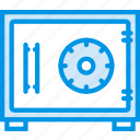 business, finance, marketing, safebox icon