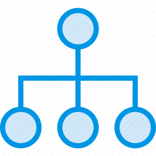 business, diagram, finance, marketing, organisation icon