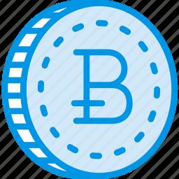 bitcoin, business, finance, marketing icon