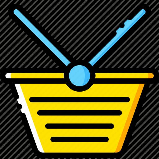 basket, business, finance, marketing, shopping icon