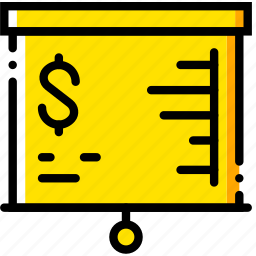 business, finance, financial, marketing, presentation icon
