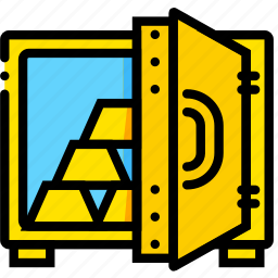 business, finance, marketing, safe, values icon
