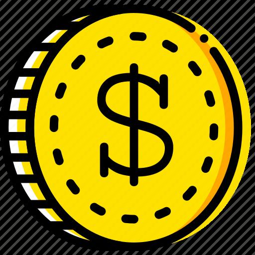 business, dollar, finance, marketing icon