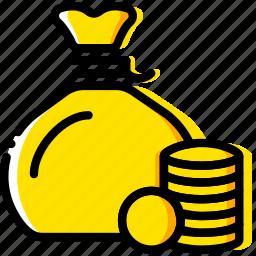 business, finance, marketing, rich icon