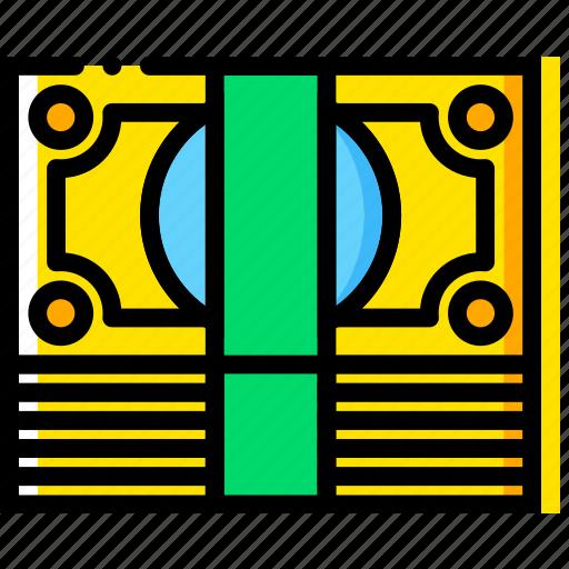 business, finance, marketing, money, stack icon
