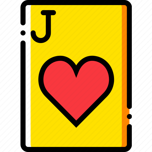 card, casino, gamble, hearts, jack, of, play icon