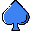 card, casino, gamble, play, spades icon