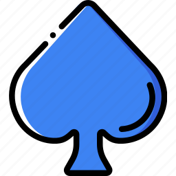 card, casino, gamble, play, spades icon