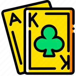 ace, card, casino, gamble, king, play icon