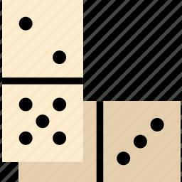 card, casino, dominoes, gamble, piece, play icon