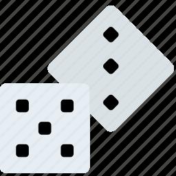 card, casino, dice, gamble, play icon