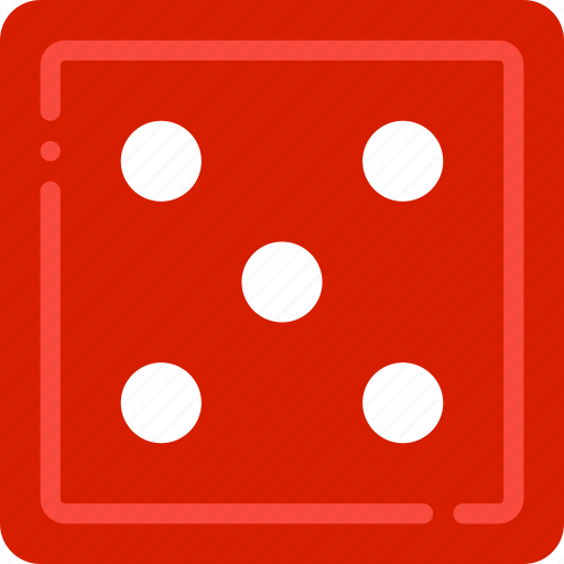 card, casino, five, gamble, play icon