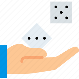 card, casino, dices, gamble, play, roll, the icon