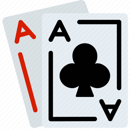 aces, card, casino, gamble, play icon