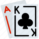 king, play, ace, casino, gamble, card icon