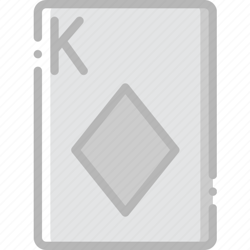 card, casino, diamonds, gamble, king, play icon
