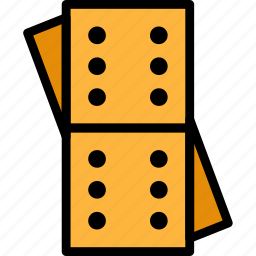 card, casino, domino, gamble, piece, play icon