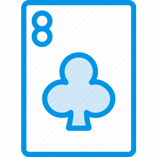 card, casino, eight, gamble, of, play, spades icon
