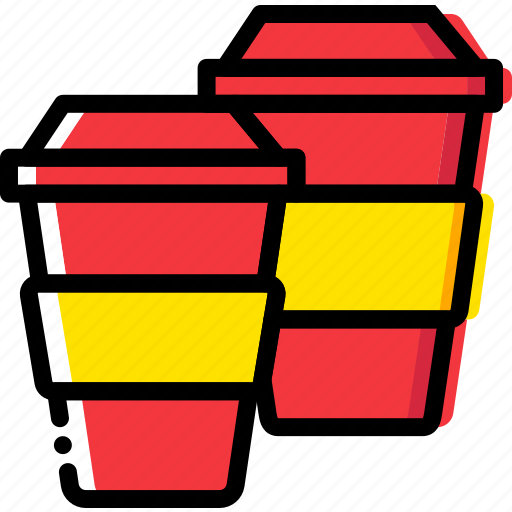 barista, coffee, cups, drink icon