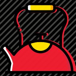 barista, coffee, drink, kettle, tea icon