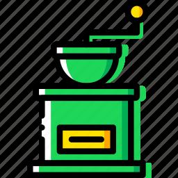 barista, coffee, drink, grinder icon