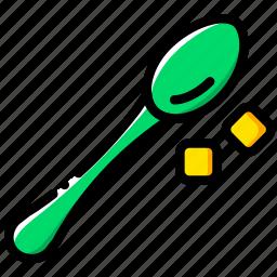 barista, coffee, drink, spoon icon