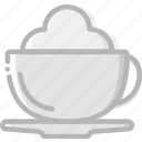 cafe, caffeine, cappucino, coffee, cup, shop icon