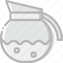 cafe, caffeine, coffee, cup, maker, shop icon
