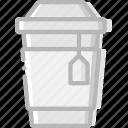 cafe, caffeine, coffee, cup, shop, tea icon
