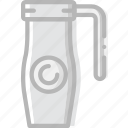 cafe, caffeine, coffee, cup, shop, thermos icon