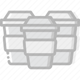 cafe, caffeine, coffee, cup, cups, shop icon