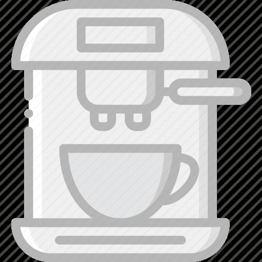 cafe, caffeine, coffee, cup, esspresso, machine, shop icon