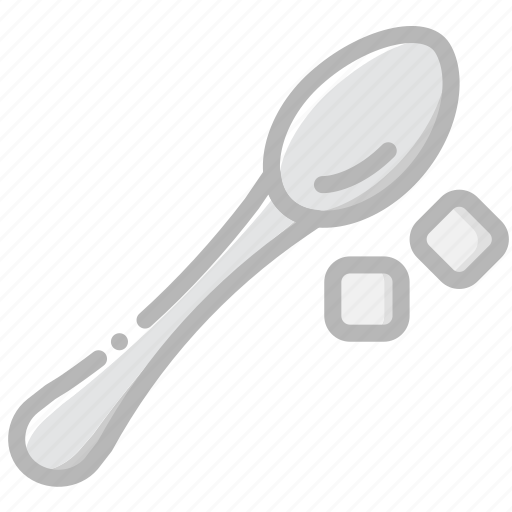 cafe, caffeine, coffee, cup, shop, spoon icon