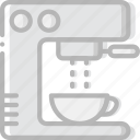 cafe, caffeine, coffee, cup, esspresso, machine, shop icon