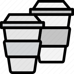 cafe, caffeine, coffee, cups, shop icon